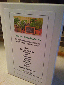 Boxed Herb Garden Kit - Wholesale